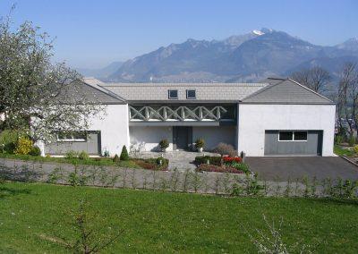 Villa en béton armé